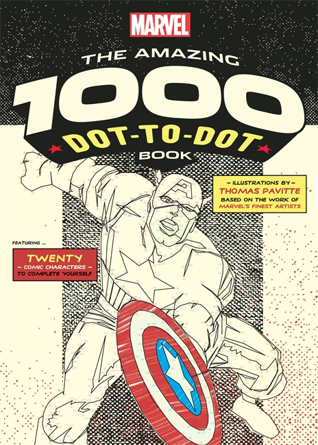Amazing Marvel 1000 Dot to Dot Book