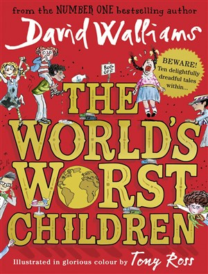 The Worlds worst children by David Walliams 300 x 396