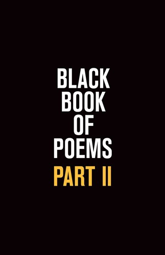 Black Book of Poems II